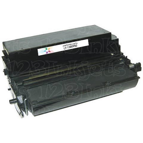 Remanufactured 1380950 Black Toner Cartridge for Lexmark