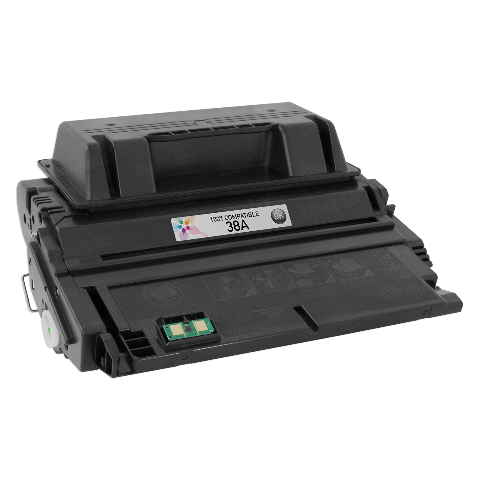 Compatible Brand Black Laser Toner for HP 38A