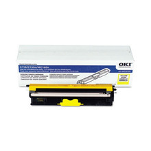 Original Yellow Type D1 Laser Toner Cartridge for Okidata 44250709 1.5K Page Yield
