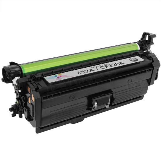 Remanufactured Replacement Black Ink for HP CF320A (HP 652A)