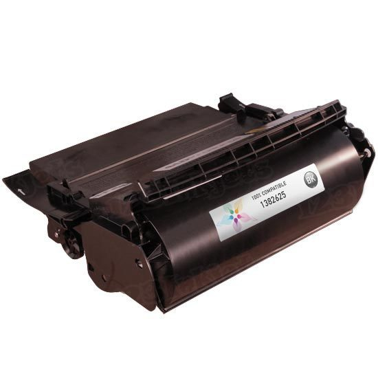 Remanufactured 1382625 Black Toner Cartridge for Lexmark