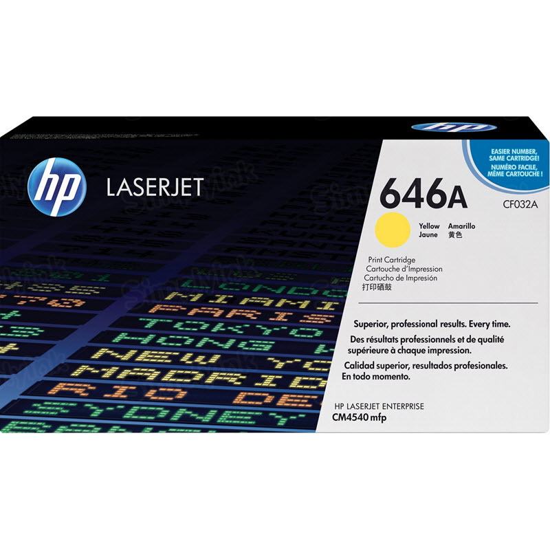 Original HP CF032A (646A) Yellow Toner