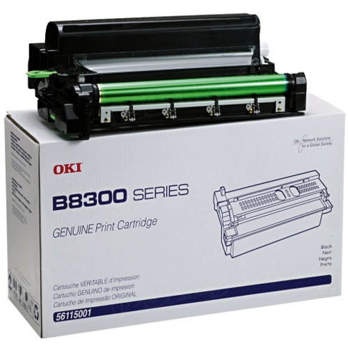 OEM Okidata 56115001 Black Toner Cartridge
