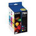 OEM T786520 for Epson Set of 3 Cyan / Magenta / Yellow Ink Cartridges