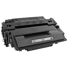 Compatible Brand Replacement for HP CE255A (55A) Black Laser Toner Cartridge
