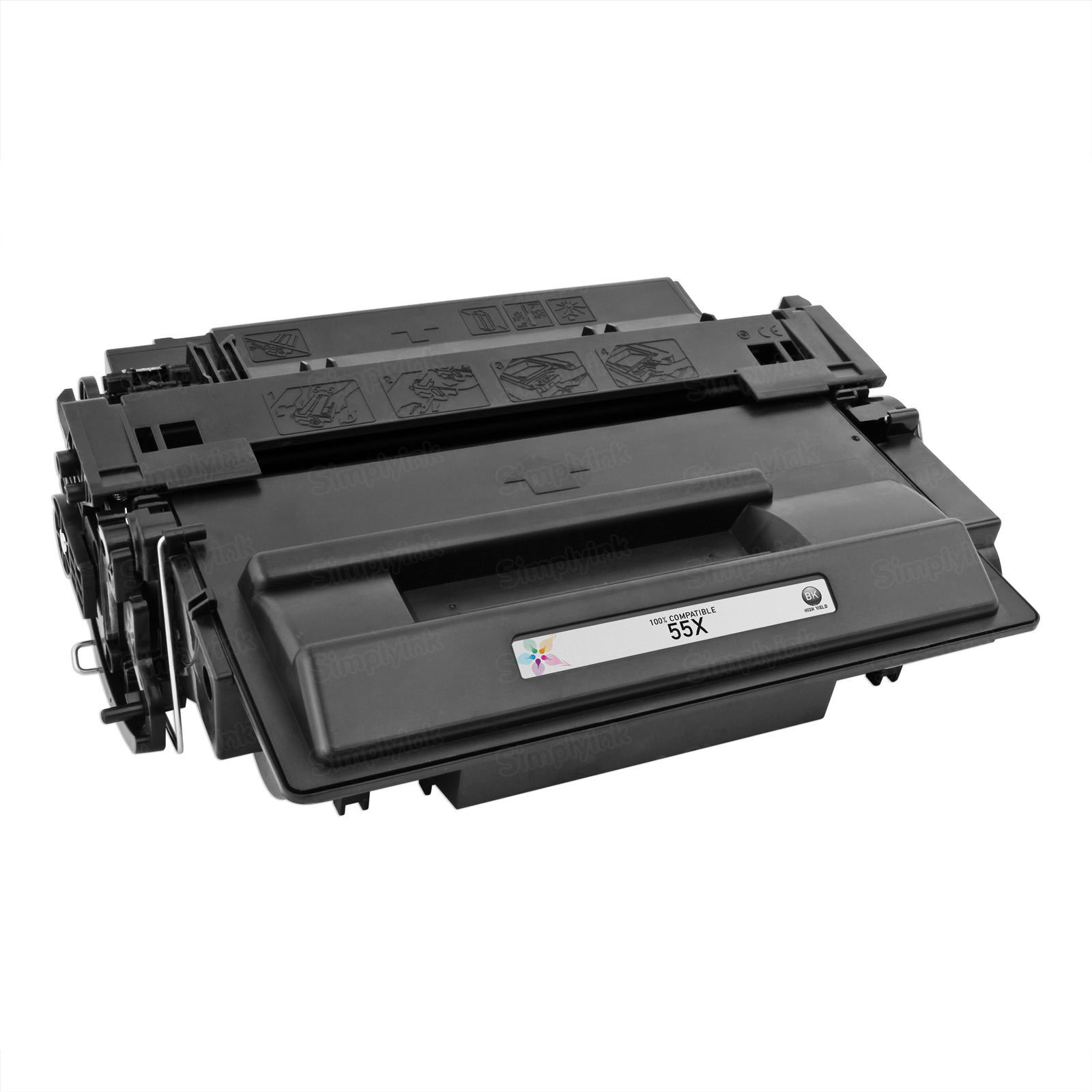 Compatible Brand HY Black Laser Toner for HP 55X