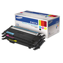 OEM Samsung CLT-P407A CMY Toner Value Pack