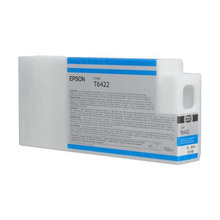 OEM Epson T642200 150 ml Cyan Ink Cartridge
