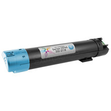 Compatible 12,000 Page Cyan Toner Cartridge for Dell C5765dn (M3TD7)