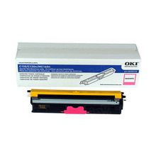 Original Magenta Type D1 Laser Toner Cartridge for Okidata 44250710 1.5K Page Yield