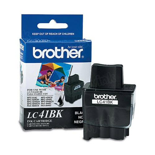Brother LC41BK Black OEM Ink Cartridge