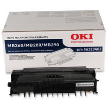 Original High Yield Black Laser Toner Cartridge for Okidata 56123402 5.5K Page Yield