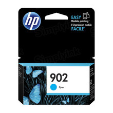 Original HP 902 Cyan Ink Cartridge in Retail Packaging (T6L86AN)