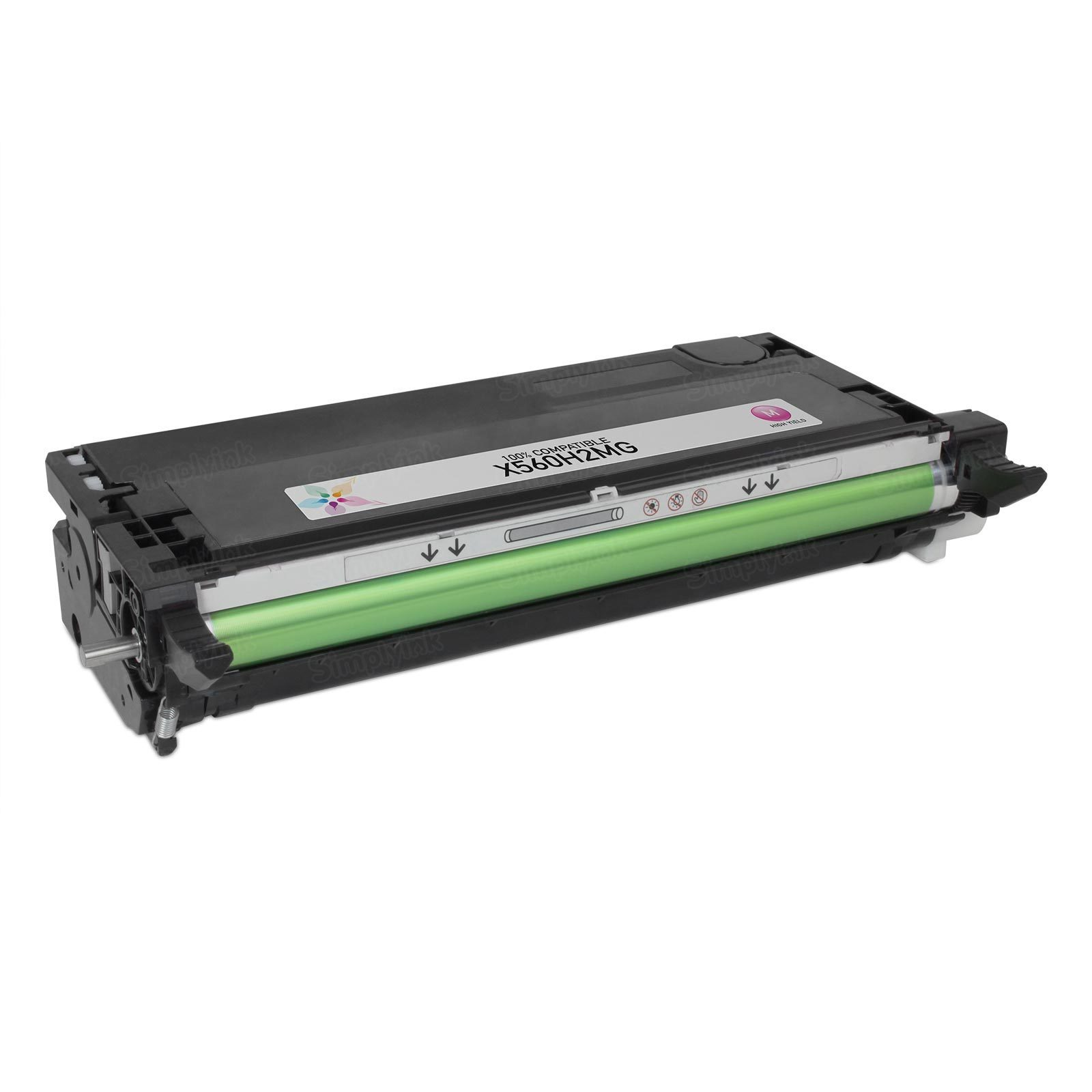 Compatible X560H2MG HY Magenta Toner Cartridge for Lexmark X560