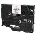 Compatible Replacement for Brother TZe421 Black on Red Tape for Brother P-Touch