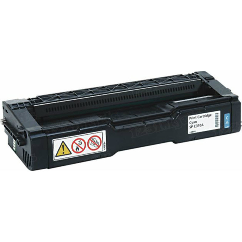 OEM Ricoh 406345 Cyan Toner Cartridge