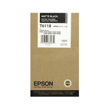 OEM Epson T611800 110 ml Matte Black Ink Cartridge