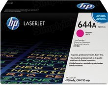 HP 644A (Q6463A) Magenta Original Toner Cartridge in Retail Packaging