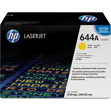 HP 644A (Q6462A) Yellow Original Toner Cartridge in Retail Packaging