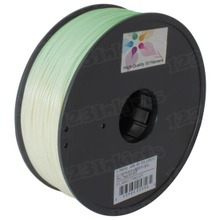 Luminous Green 3D Printer Filament 1.75mm 1kg ABS