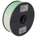Spool of Luminous Green 1.75mm 1kg ABS Filament