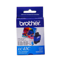 Brother LC41C Cyan OEM Ink Cartridge