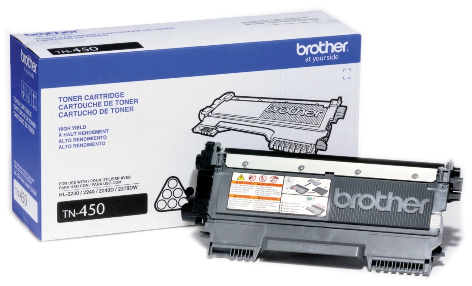 OEM Brother TN450 HY BlackLaser Toner