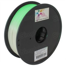 Luminous Green 3D Printer Filament 1.75mm 1kg PLA