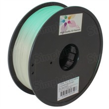 Luminous Blue 3D Printer Filament 1.75mm 1kg PLA
