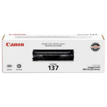 Canon 137 (2,400 Pages) High Yield Black Laser Toner Cartridge - OEM 9435B001