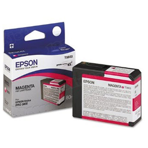Epson T580300 Magenta OEM Ink Cartridge