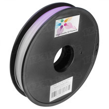 Natural to Purple 3D Printer Filament Color Changing in UV 1.75mm 0.5kg PLA