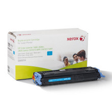 Xerox Premium Remanufactured Replacement Toner for HP 124A Cyan (Q6001A) ?�� Made in the U.S.