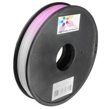 Natural to Red 3D Printer Filament Color Changing in UV 1.75mm 0.5kg PLA