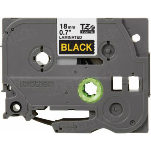 Brother TZe-344 3/4 Gold on Black OEM Tape