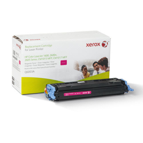 Xerox Remanufactured Magenta Laser Toner for Hewlett Packard Q6003A
