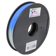 Blue to Natural 3D Printer Filament Color Changing in Temp 1.75mm 0.5kg PLA
