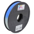 Color Changing 0.5kg 1.75mm Blue to Natural Printer Filament