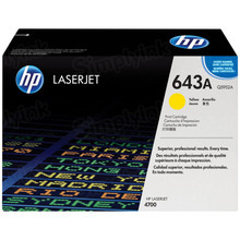 HP 643A (Q5952A) Yellow Original Toner Cartridge in Retail Packaging