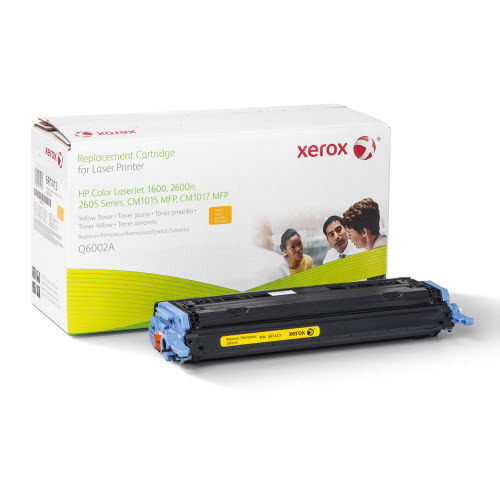 Xerox Remanufactured Yellow Laser Toner for Hewlett Packard Q6002A