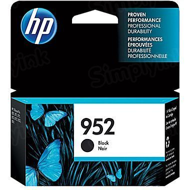 HP 952 Black Original Ink Cartridge F6U15AN
