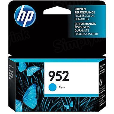 HP 952 Cyan Original Ink Cartridge L0S49AN