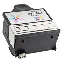 Compatible Kodak 8946501 (#10C) Dye-Based Color Ink Cartridges