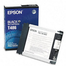 Original Epson T486011 Black Inkjet Cartridge (T486)