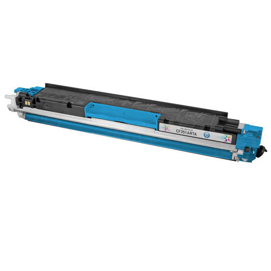 Remanufactured Replacement Cyan Laser Toner for HP 130A