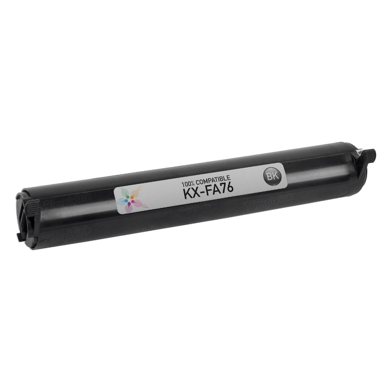 Compatible KX-FA76 Black Toner Cartridge for Panasonic