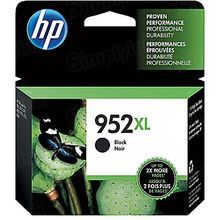 Original HP 952XL High Yield Black Ink Cartridge in Retail Packaging (F6U19AN)