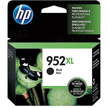 HP 952XL High Yield Black Original Ink Cartridge F6U19AN