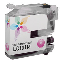 Compatible Brother LC101M Magenta Ink Cartridges