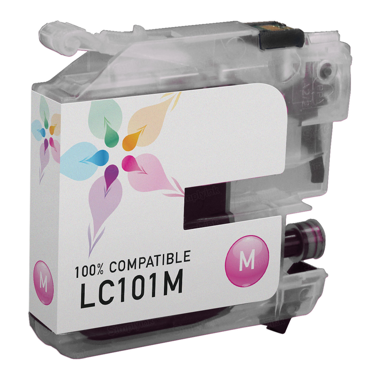 Brother Compatible LC101M Magenta Ink
